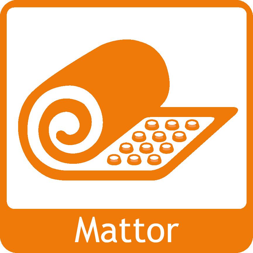 mattor-orange